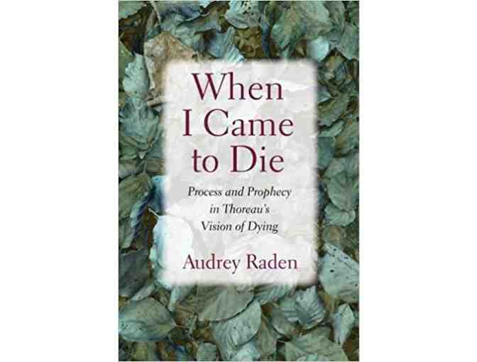 Zoom with author Audrey Raden about 'When I Came to Die'
