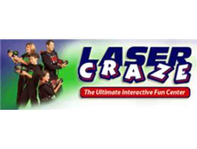 5 Complimentary Passes to LaserCraze