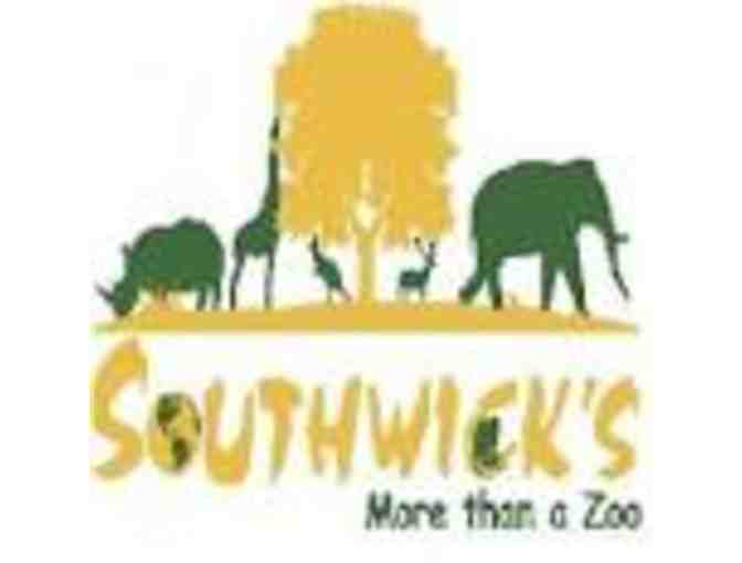 Two (2) General Admission Passes to Southwick's Zoo (2019 Season) - Photo 1