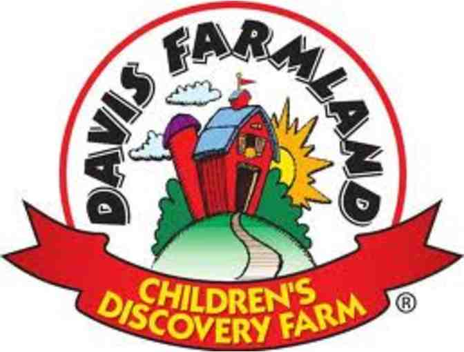 Day Pass Good for 2 Guests at Davis Farmland