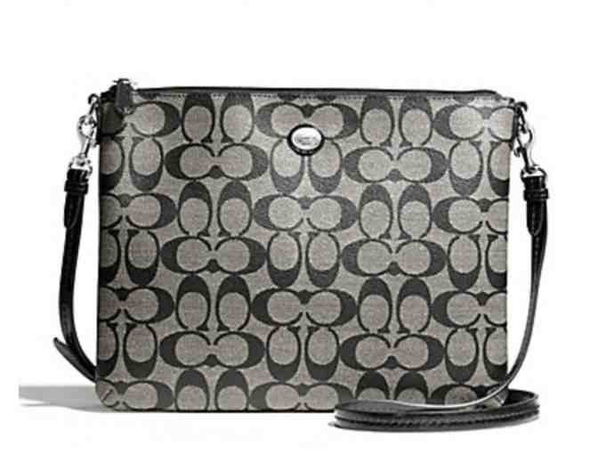 Coach Peyton Signature Tablet Crossbody