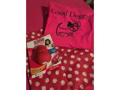 Good Doggie T-shirt w/ gift bag and toy