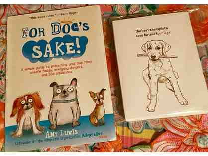 For Dog's Sake: Book and Greeting Cards