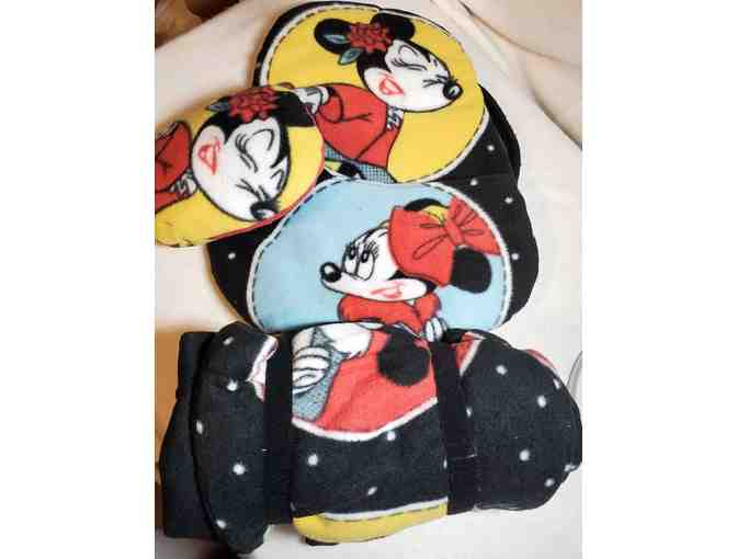 Backpack and Sleeping Bag with Pillows - Minnie - Photo 2