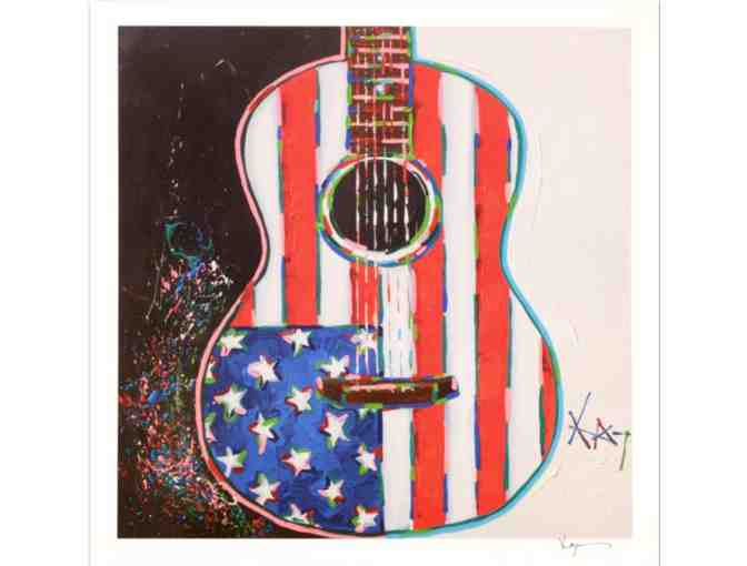 """American Acoustic"" Ltd Ed Lithograph, Numbered and Hand Signed - Photo 1"