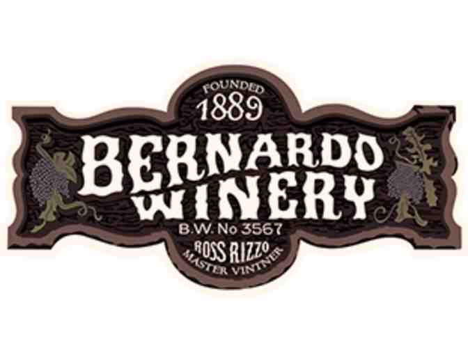 Bernardo Winery Wine Tasting