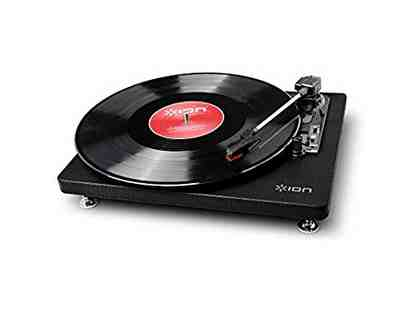Convert your records! ION Audio Quick Play Conversion Turntable w/USB Flash Drive