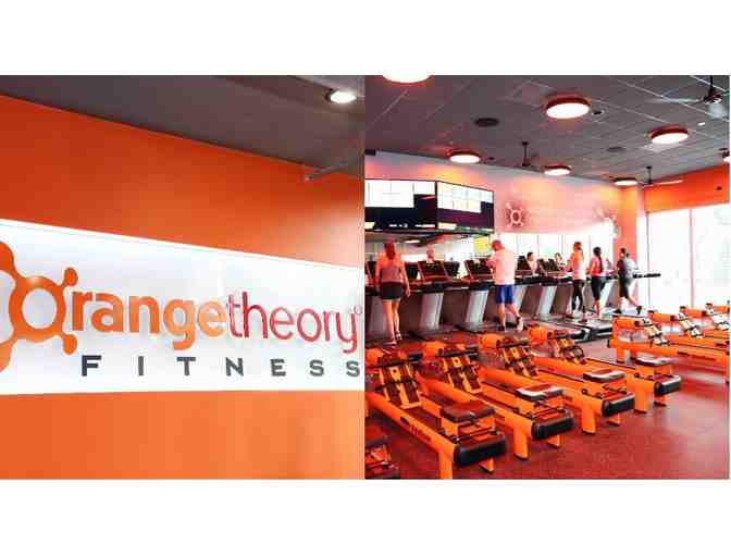 Orange Theory Fitness - Gift Certificate for 4 Sessions, water bottle, towel, gym bag