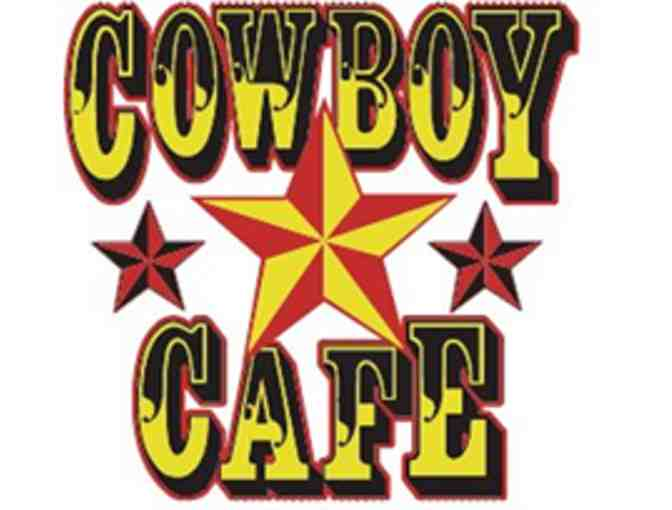 Cowboy Cafe $25 Gift Certificate - Photo 1