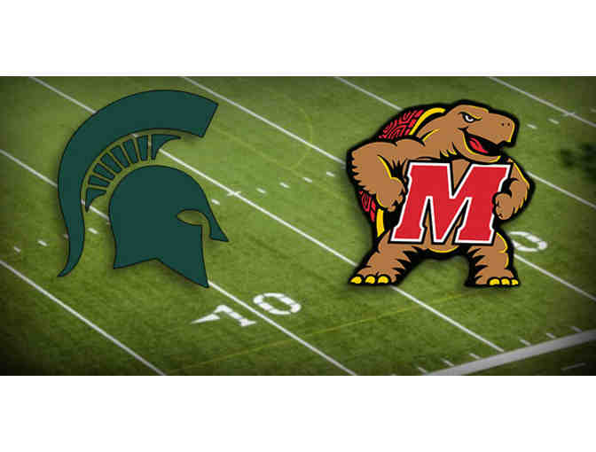 4 Tickets to Maryland vs MSU Football with Parking Pass - Photo 1