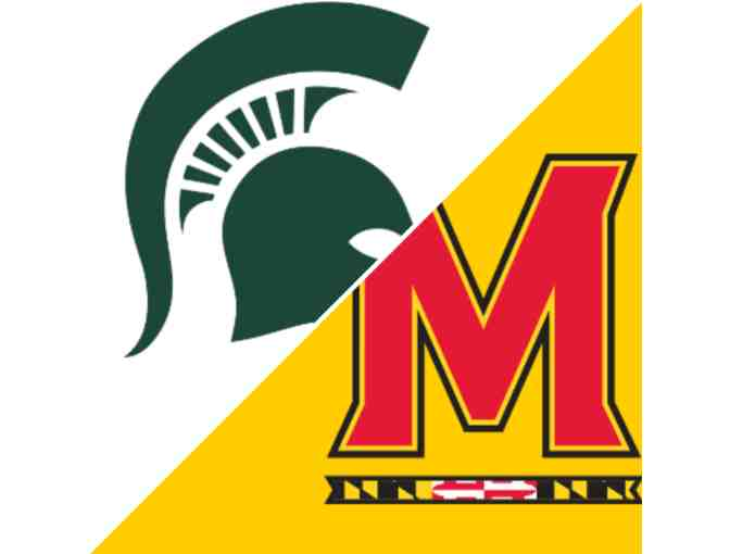 2 Tickets to MSU vs. Maryland Basketball Game - Photo 1