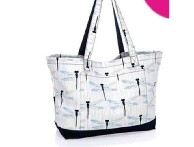 Thirty-One Beach Ready Tote - Dragon Fly