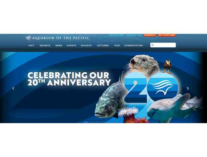 2 Tickets to the Aquarium of the Pacific