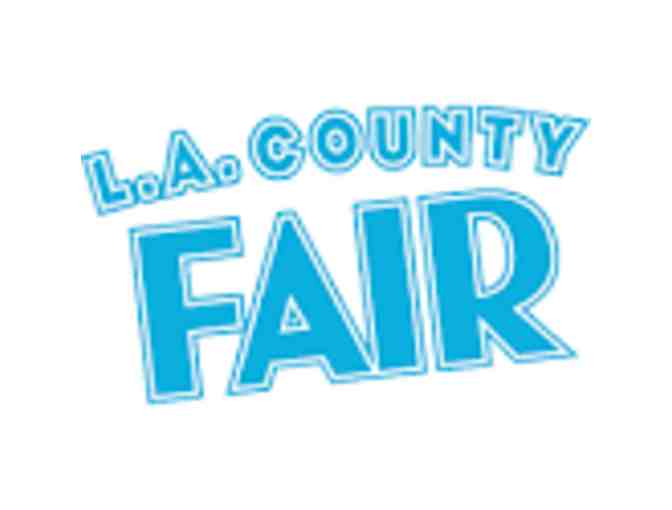 4 Admission Tickets to the LA County Fair & Parking!