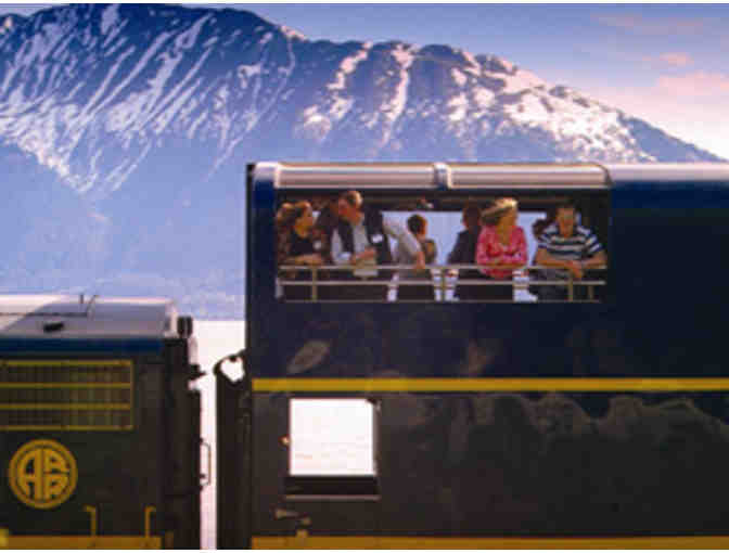 2 Round-Trip Deluxe Dome Railcar Seats Anchorate, AK to Denali National Park Adventure