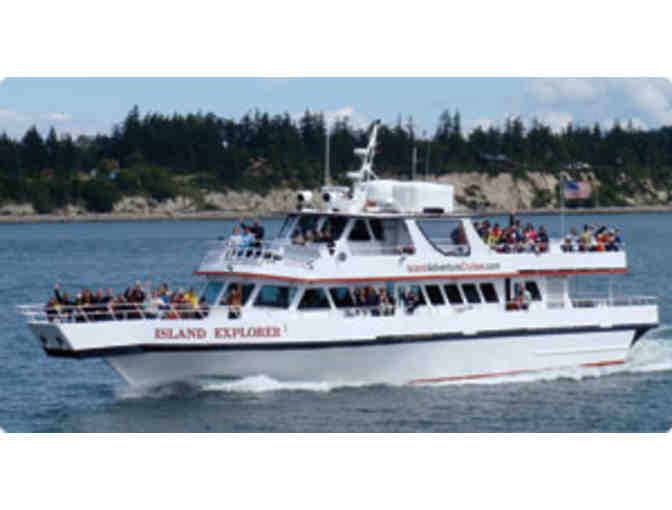 Washington Whale Watching for Four