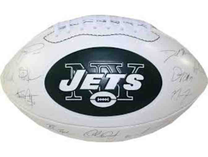 2018 New York Jets Team Signed Football - Photo 1