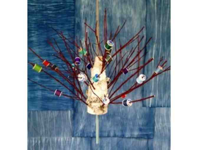 Goodale, Anne - 'Birch and dogwood spool tree'