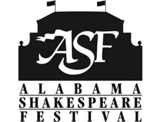 2 Tickets to Alabama Shakespeare Festival Performance of Romeo and Juliet