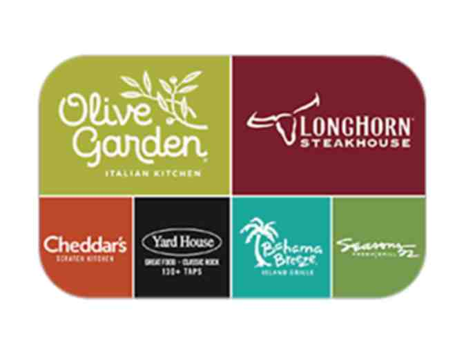$25.00 Gift Card to Darden Restaurants