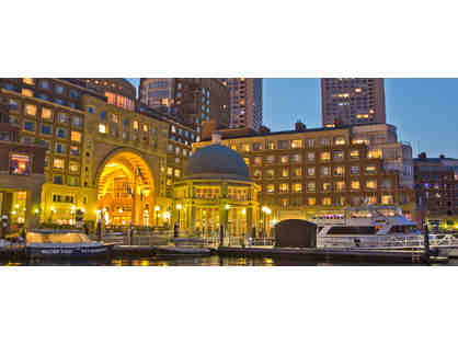 Boston Harbor Hotel - 1-night stay with breakfast/parking