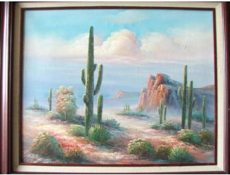 Original Southwest Oil Painting, by B. Duggan