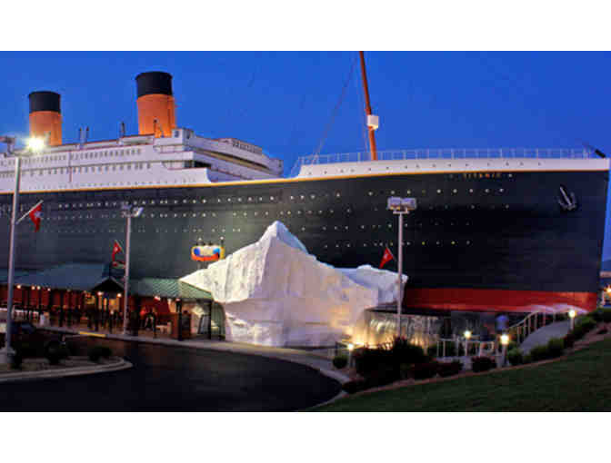 Titanic 'World's Largest Museum Attraction' - Family Pass and Memory Booklet