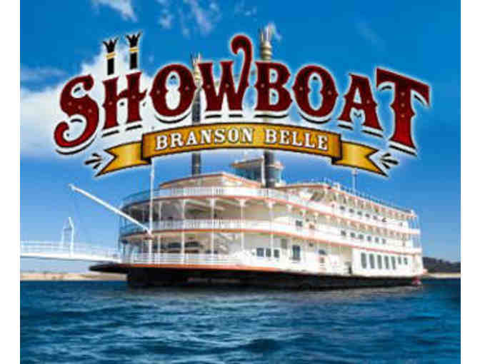 Showboat Branson Belle- 2 Tickets for a Dinner Cruise