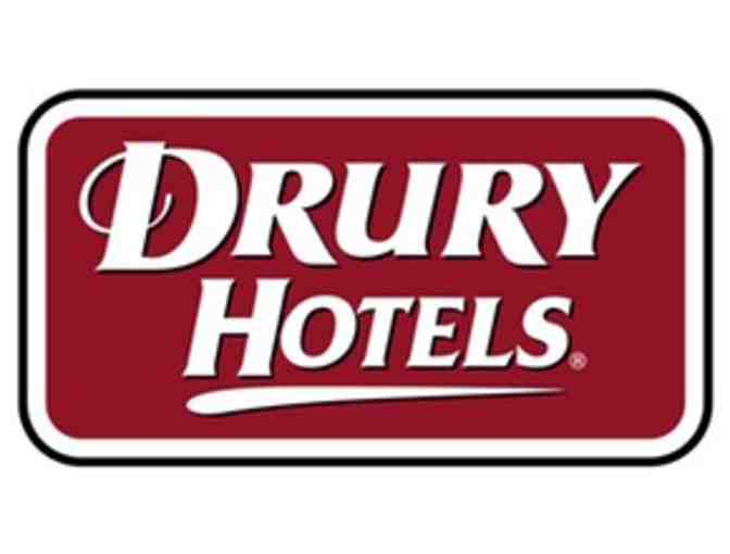 Drury Inn - Free One (1) Night (Friday or Saturday) Certificate (at any Drury Inn)