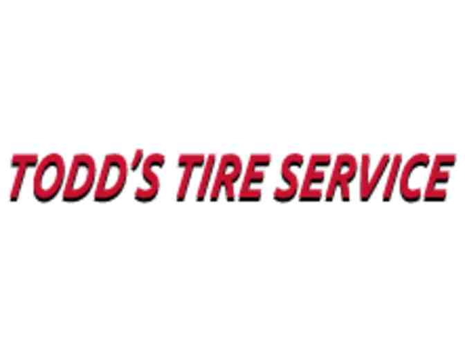 Todd's Tire Service-Free Lube, Oil & Filter Certificate