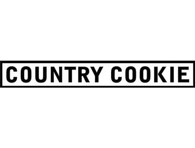 Country Cookie Punch Card