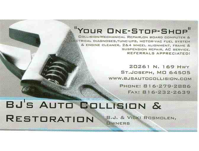BJ's Auto Collision & Restoration - 2 Wheel Alignment