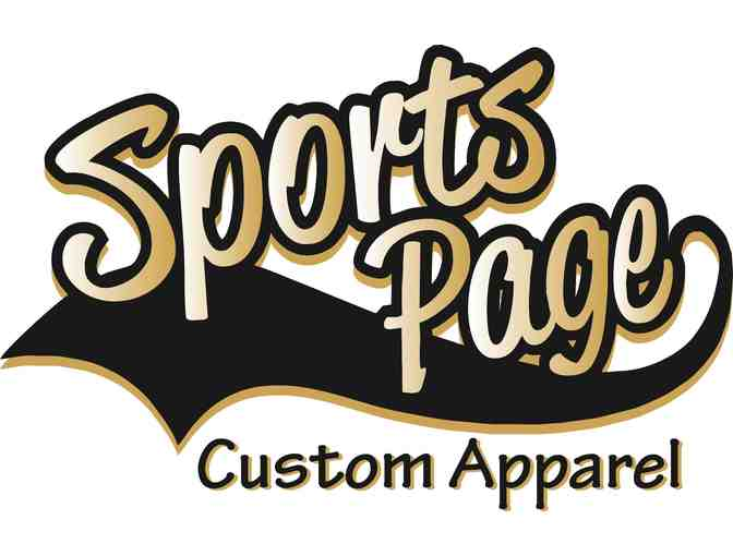 The Sports Page-$200 Value Gift Certificate + T-Shirt Bag