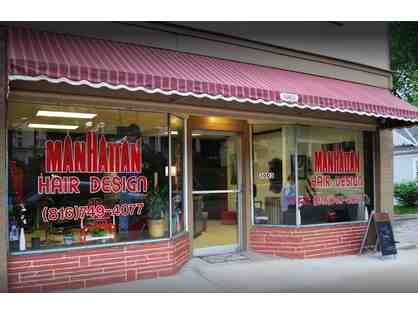 Manhattan Hair Design-$25 Haircut Certificate
