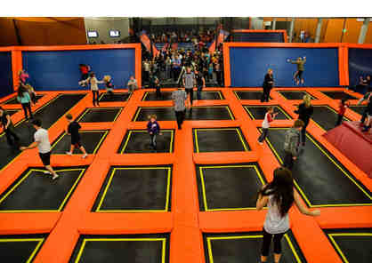 6 One-Hour Jump Passes at Big Air Trampoline Park in Buena Park, CA