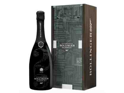 Bollinger James Bond 007 Limited Edition Champagne Gift Box Millesime 2011