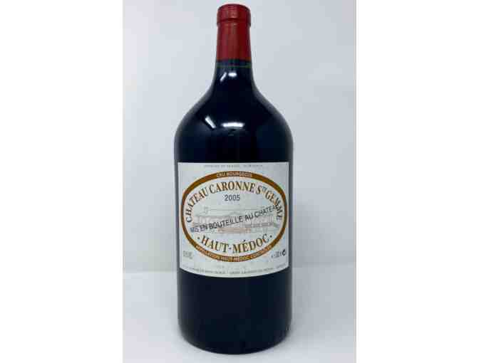 3L Bottle of Chateau Caronne Ste Gemme 2005 - Photo 1