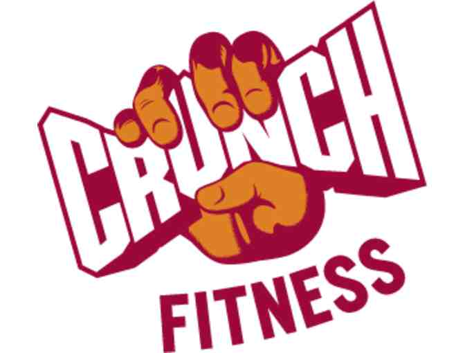 1 Year Membership at Crunch Fitness