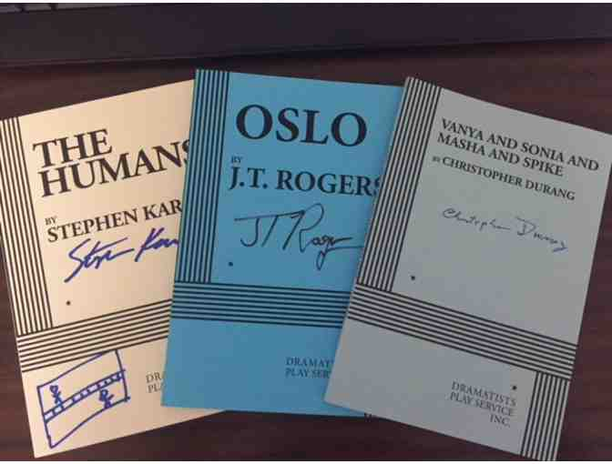 3 Signed Plays (Tony Award Winners)
