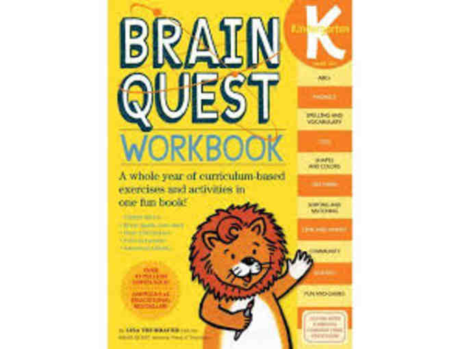 Brain Quest Kindergarten Workbook and Quest Deck