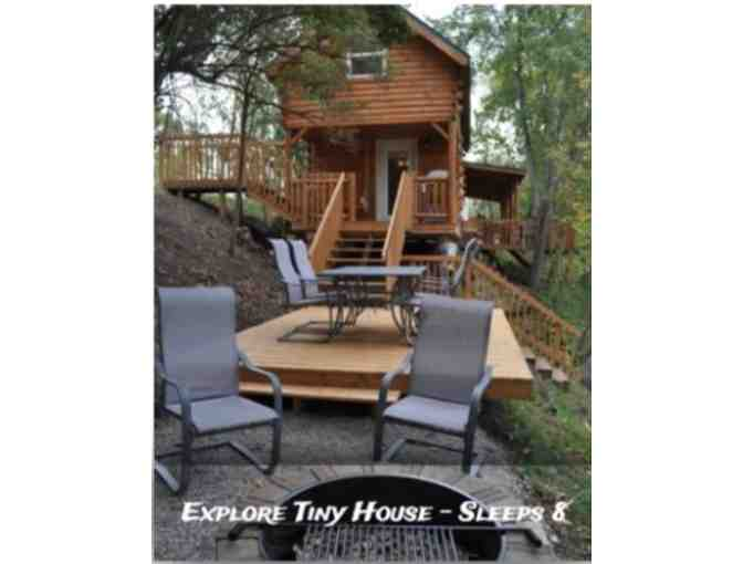 $500 Gift Certificate for Buckeye Beach Luxury Cabins and Sunset Springs RV Resort