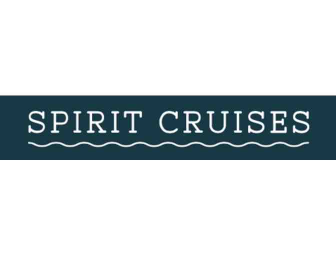Lunch Cruise for 2 on Boston Harbor with Spirit Cruises