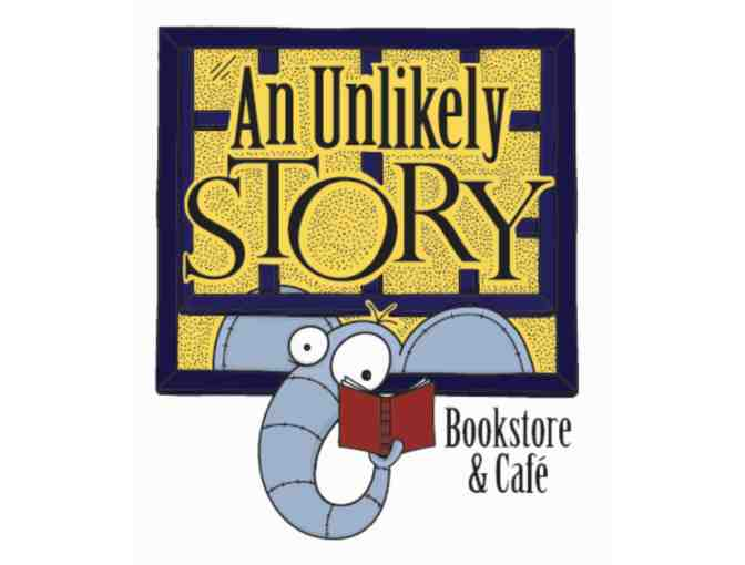 $25 Gift Card to An Unlikely Story Bookstore and Cafe and Tote Bag
