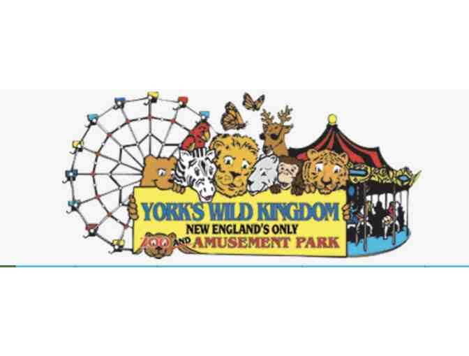 2 Passes to York's Wild Kingdom Zoo and Amusement Park - Photo 1