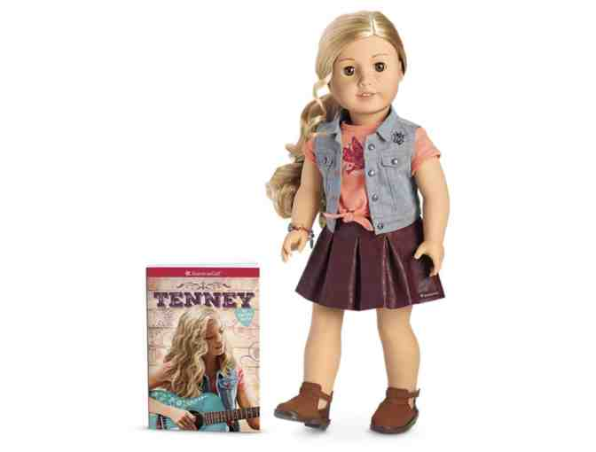 American Girl Tenney Doll and Book