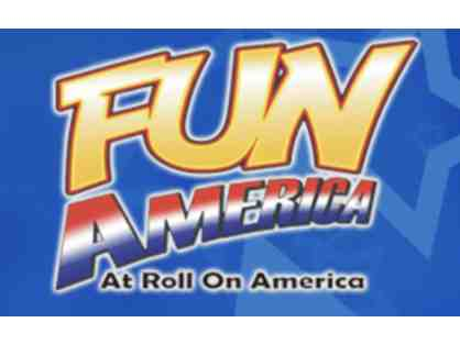4 Passes to Fun America at Roll On America