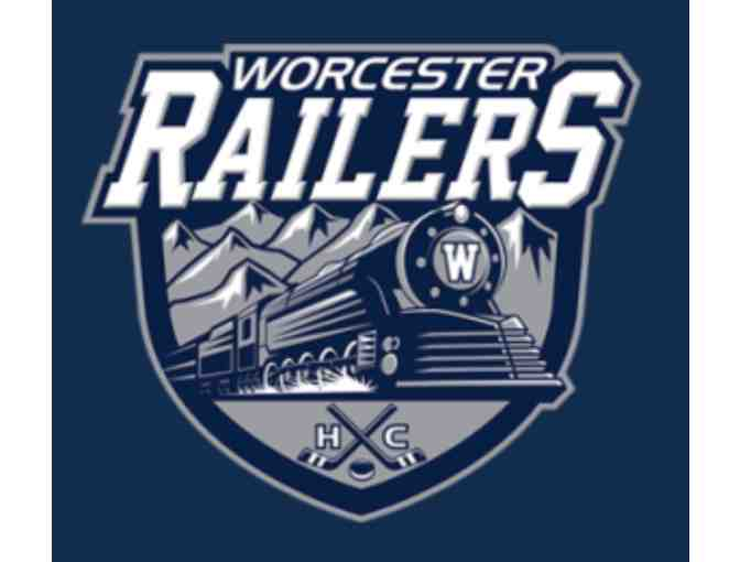 4 Tickets to Worcester Railers Hockey Home Game