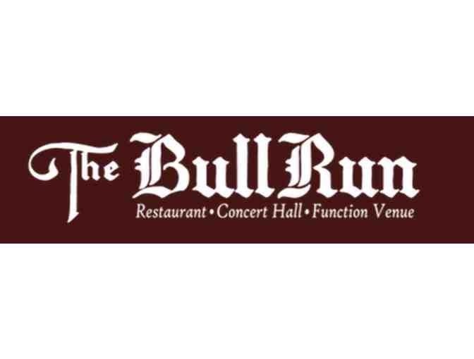 $20 Gift Card to the Bull Run Restaurant - Photo 1