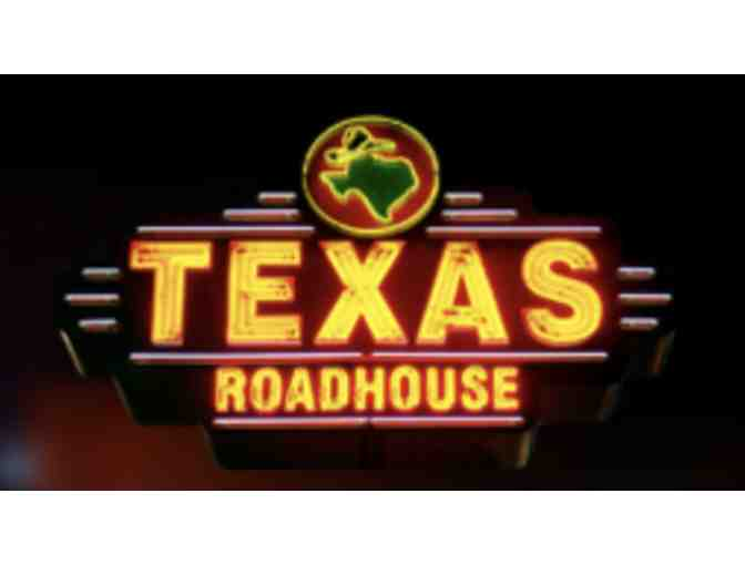 Texas Roadhouse Dinner for 2 with Tin Filled with Peanuts, Seasoning, and Steak Sause - Photo 1