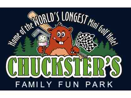 4 Rounds of Mini Golf at Chuckster's Family Fun Park